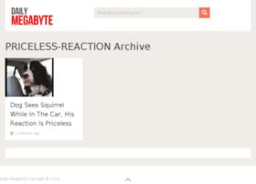 priceless-reaction.dailymegabyte.com
