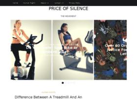 priceofsilence.org