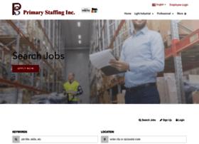 primary-staffingjobs.haleymarketing.com