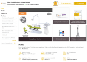 primedentalproducts.in