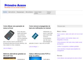 primeiroacesso.com.br
