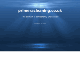 primeracleaning.co.uk
