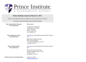 princeinstitute.edu