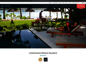 princemaurice.constancehotels.com