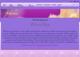 princespa.com.hk