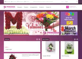 princessaflowers.com