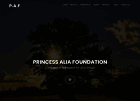 princessaliafoundation.org