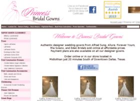 princessbridalgowns.com