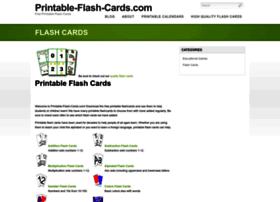 printable-flash-cards.com