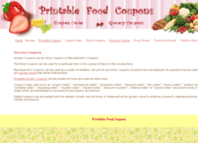 printable-food-coupons.com