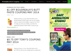 printable2014coupons.com
