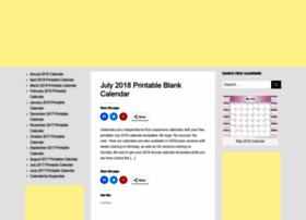 printableblankcalendar.org