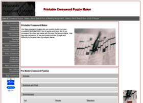 printablecrosswordmaker.com