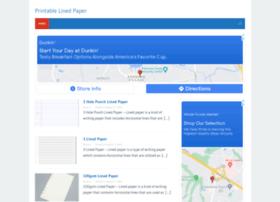 printablelinedpaper.com