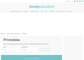 printables.familyeducation.com