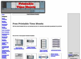 printabletimesheets.net