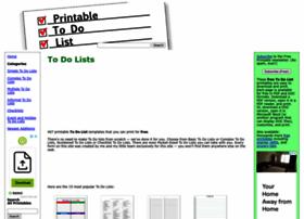 printabletodolist.com