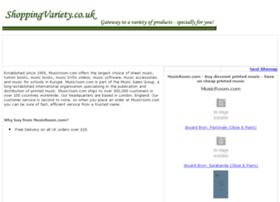 printed-music.shoppingvariety.co.uk