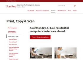 printing.stanford.edu