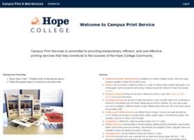 printservices.hope.edu
