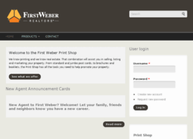 printshop.firstweber.com