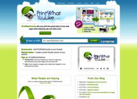printwhatyoulike.com