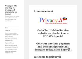 privacy.li