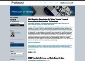 privacylaw.proskauer.com