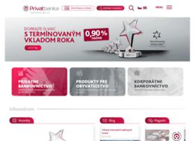 privatbanka.sk