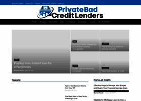 Private-bad-credit-lenders.com
