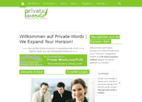 private-words.com