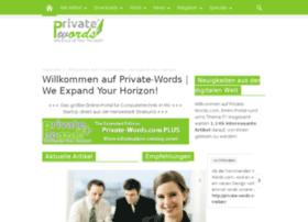 private-words.com