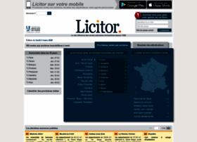 private.licitor.com
