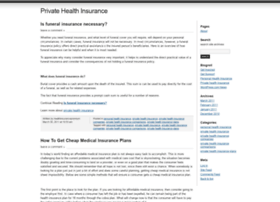 privatehealthinsurancecomparison.wordpress.com