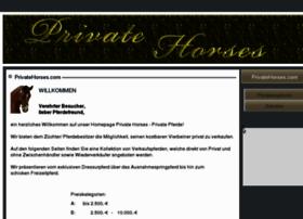 privatehorses.com