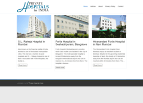 privatehospitalsindia.com