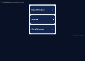 privatelabelcosmeticscorp.com