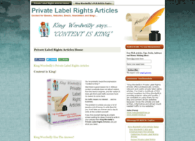 privatelabelrightarticles.com
