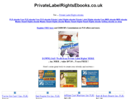 privatelabelrightsebooks.co.uk