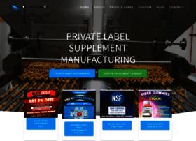 privatelabelsupplements.net