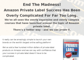 privatelabeltheeasyway.com