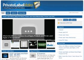 privatelabelvideo.com