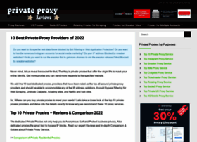 privateproxyreviews.com