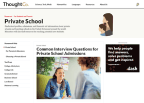 privateschool.about.com