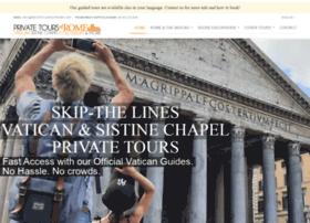 privatetoursinrome.com