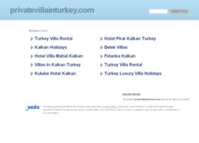 privatevillainturkey.com