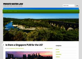 privatewaterlaw.com
