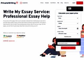 privatewriting.com