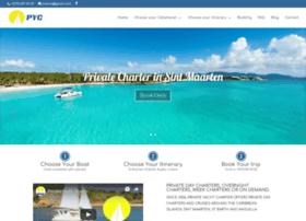 privateyachtcharter-sxm.com