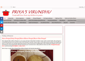priyas-virundhu.blogspot.in